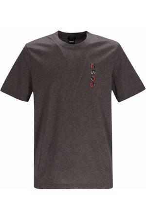 HUGO BOSS Logo-print short-sleeve T-shirt - Grey