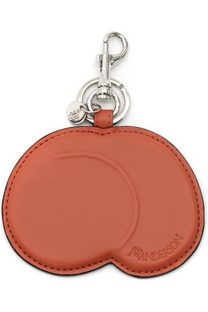 J.W.Anderson Keychains - Peach leather keyring