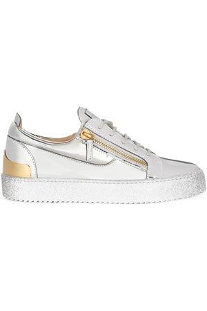 Giuseppe Zanotti Men Sneakers - Frankie Steel low-top sneakers - Grey