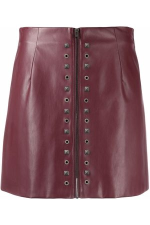 Patrizia Pepe Mini leather-effect skirt