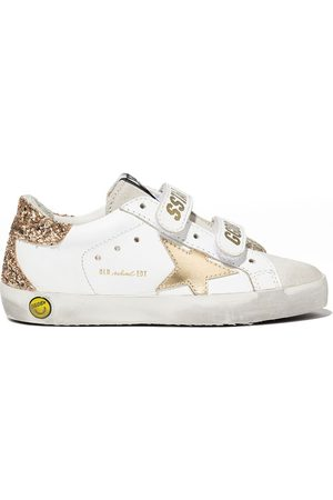 Golden Goose Girls Sneakers - Super-Star touch-strap sneakers