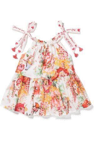 ZIMMERMANN Mae floral-print mini dress
