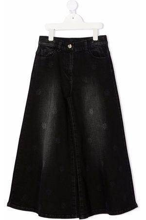 MONNALISA Girls Denim Skirts - A-line denim skirt