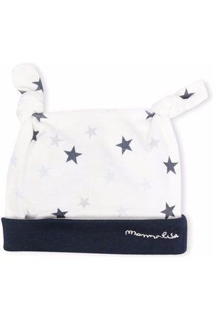 MONNALISA Hats - Star print knit hat