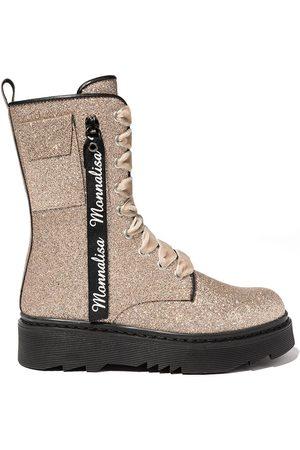 MONNALISA Girls Thigh High Boots - GIRLS BOOTS LACE UP SIZE