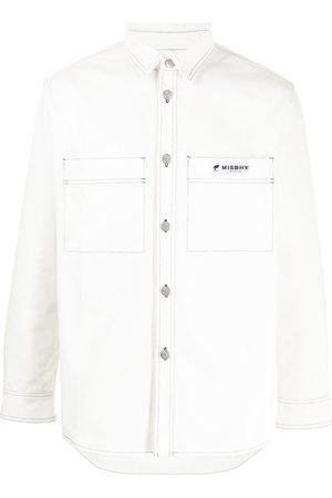 MISBHV Men Long sleeves - Long-sleeve cotton shirt