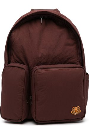 Kenzo Logo-patch detail backpack