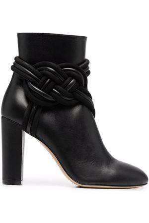 ETRO Women Heeled Boots - Braided high-heel boots