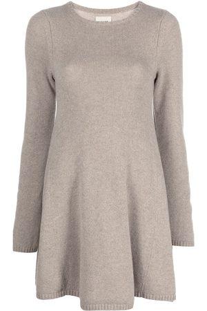 Khaite The Fleurine cashmere minidress - Multicolour