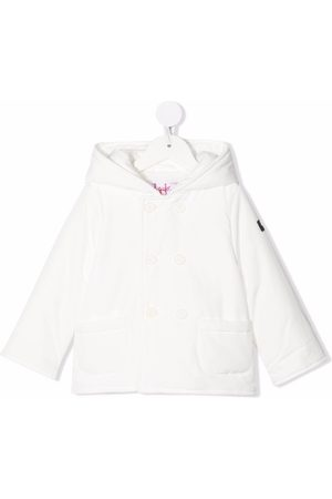 Il gufo Puffer Jackets - Double-breasted hooded coat