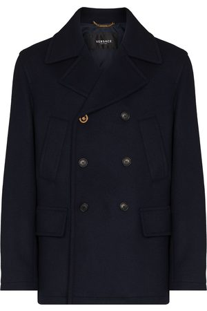 VERSACE Men Coats - Medusa double-breasted coat