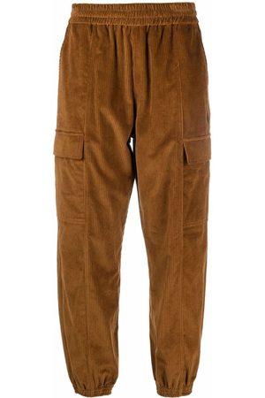 Marcelo Burlon County of Milan Men Sweatpants - Cross corduroy track pants