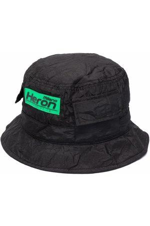 Heron Preston Men Hats - Crinkled logo bucket hat