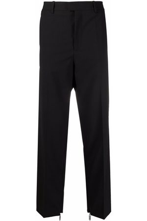 OFF-WHITE Zip detail tailored trousers