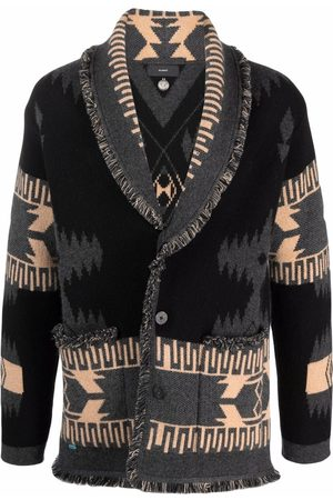 Alanui Men Cardigans - Chunky knitted cardigan