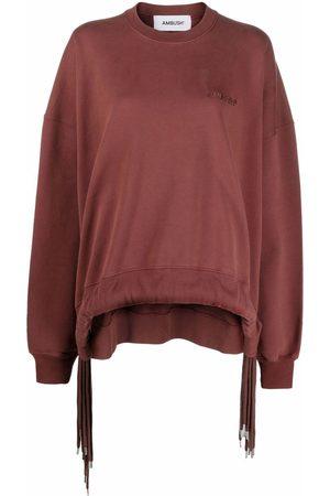 AMBUSH Women Sweatshirts - MULTICORD CREWNECK SABLE SABLE