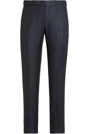 Ermenegildo Zegna Tailored wool trousers - Grey