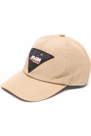 Msgm Logo-patch hat - Neutrals