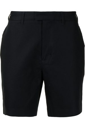 Fred Perry Waffle-texture cotton shorts