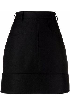 Serafini Women Mini Skirts - High-waisted A-line mini skirt
