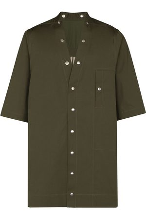 Rick Owens Faun short-sleeve cotton shirt