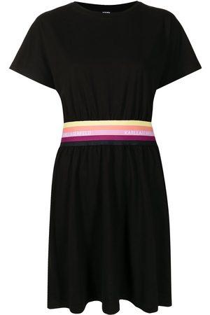 Karl Lagerfeld Women Short Sleeve - Short-sleeve T-shirt dress