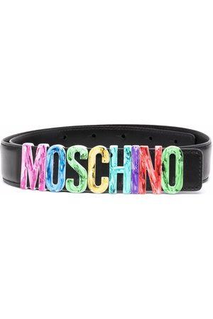 Moschino Logo-lettered belt