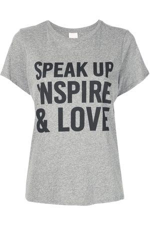 Cinq A Sept Speak Up crewneck T-shirt - Grey