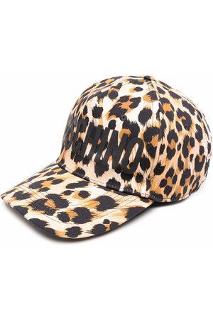 Moschino Leopard-print cap
