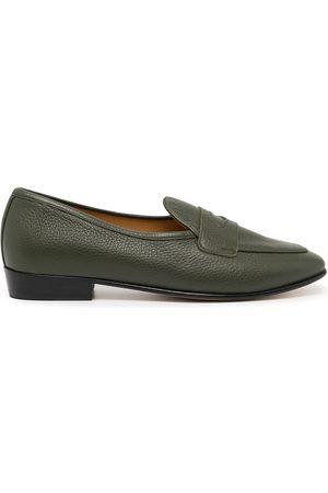 Baudoin & Lange Men Loafers - Sagan Ginkgo leather loafers