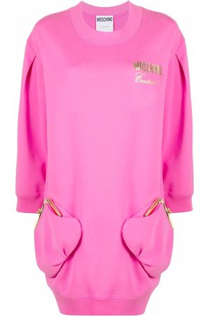 Moschino Purse detail sweatshirt dress