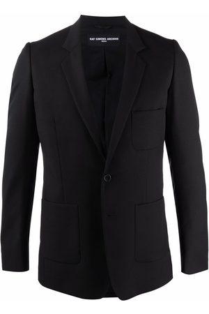 RAF SIMONS Single-breasted wool blazer