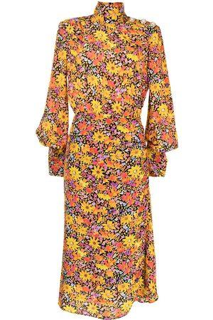 Rebecca Vallance Women Printed Dresses - Arles floral-print midi dress
