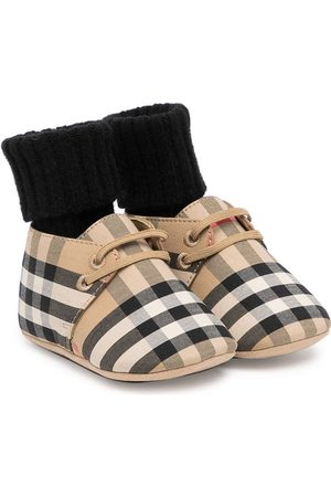 Burberry Sneakers - Vintage Check lace-up sneakers