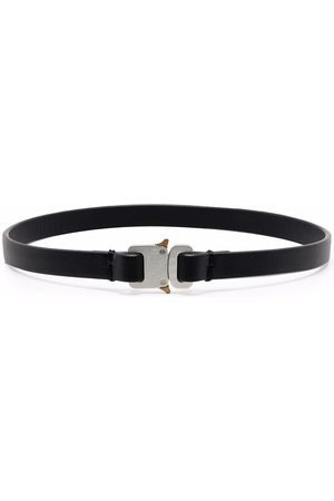 1017 ALYX 9SM Necklaces - Engraved buckle fastening choker
