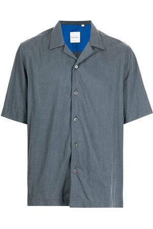 Paul Smith Men Short sleeves - Tailored fit short sleeved shirt - Grey