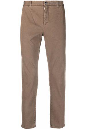 PT05 Cotton-twill slim-cut trousers