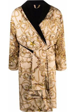 Philipp Plein New Baroque bathrobe - Neutrals