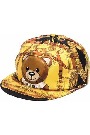 Moschino Teddy bear-print flat cap