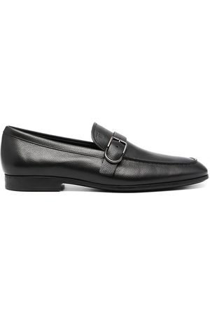 Tod's Men Loafers - Buckle-detail square-toe loafers
