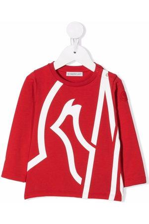 Moncler Oversize logo-print T-shirt