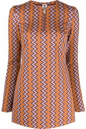M Missoni Women Blouses - Zigzag-print blouse