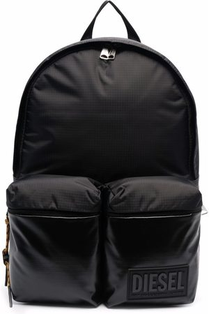 Diesel Men Rucksacks - Logo-plaque backpack