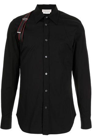 Alexander McQueen Harness-detail long-sleeve shirt
