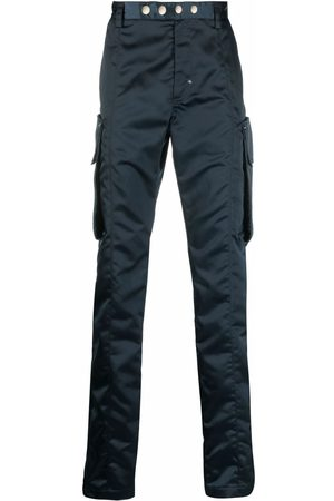 1017 ALYX 9SM Men Skinny Pants - High-shine slim-cut trousers