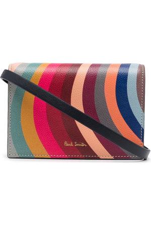 Paul Smith Swirl-print crossbody wallet - Multicolour