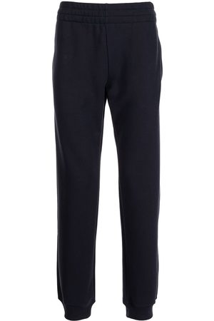 Moschino Elasticated-waist cotton track trousers