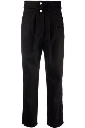 IRO Atrak straight-leg cotton trousers