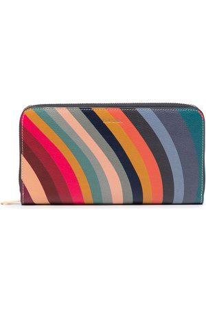 Paul Smith Women Wallets - Swirl-print leather wallet - Multicolour
