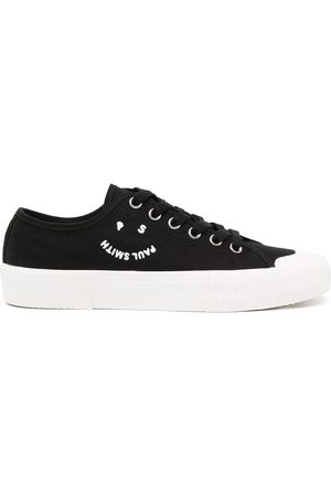 Paul Smith Men Sneakers - Logo-print baseball-shoes